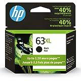 HP 63XL | Ink Cartridge | Works with HP Deskjet 1112, 2100 Series, 3600 Series, HP ENVY 4500 Series, HP OfficeJet 3800 Series