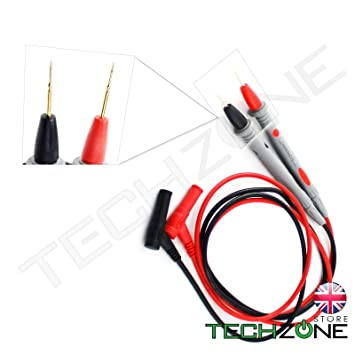 Useful Multimeter Voltmeter Cable Thin Needle Tester Probe Test Lead cord Nice