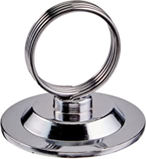 New Star 12 Pcs Ring Clip Place Card Holder Table Menu Holder Table Card  Holder
