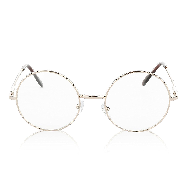 SunnyPro Non Prescription Eyeglasses Clear Lens For Women And Men UV Protection