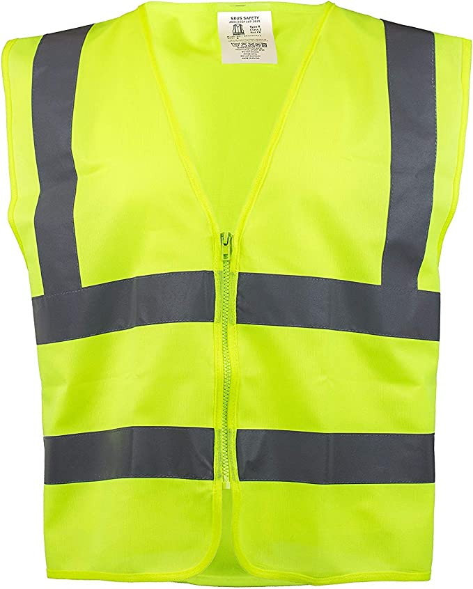 Rk Safety Z7412 High Visibility Safety Vest Ansi Isea Standard Color Neon Yellow Size 5xl Amazon Com