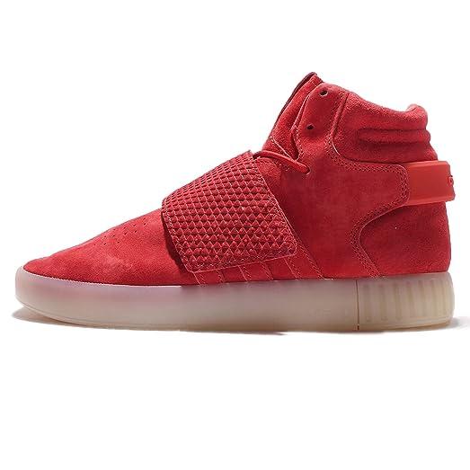 Adidas hombre 's tubular invasor Correa, rojo / rojo / vinwht,
