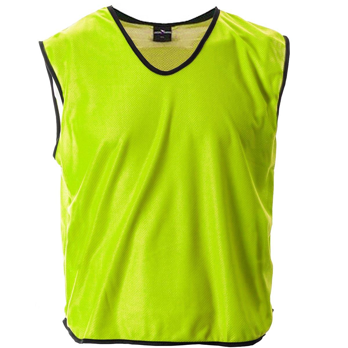 Mesh Football Rugby Sports Training Tank Top Sports Bib Yellow Cartasport