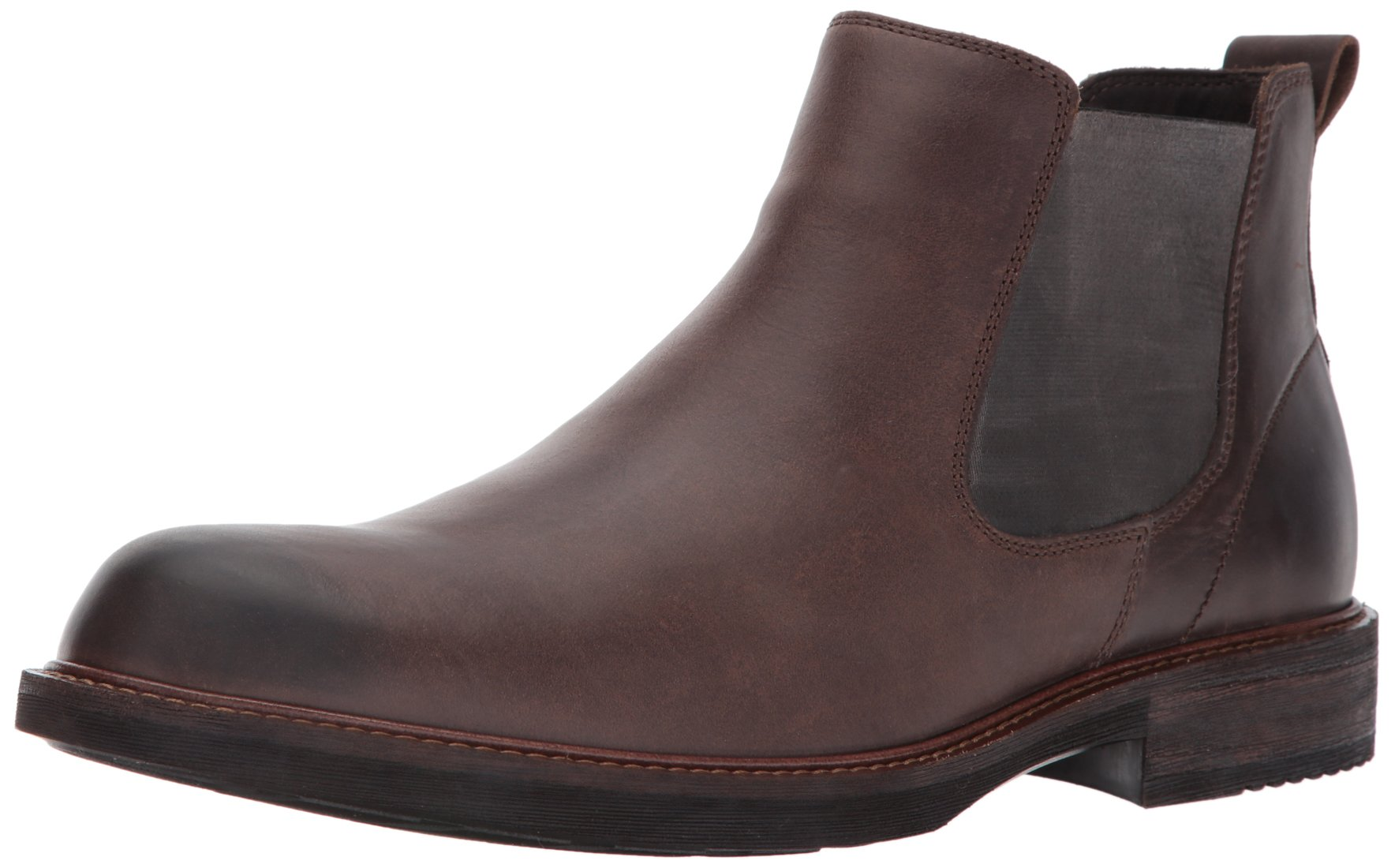 ECCO Men's Kenton Chelsea Boot, Coffee, 44 EU/10-10.5 M US