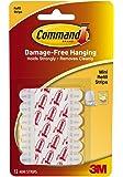Command Decorating Clip Strips, White, 23-Strip