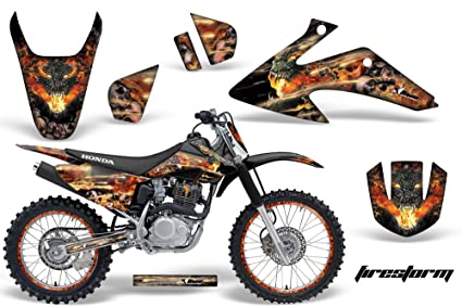 Honda CRF 150 230F 2008 2014 MX Dirt Bike Graphic Kit Sticker WITH Number  Plates