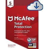 McAfee | Total Protection | 5 Dispositivo | 9 Mesi | PC/Mac | Codice d'attivazione via email