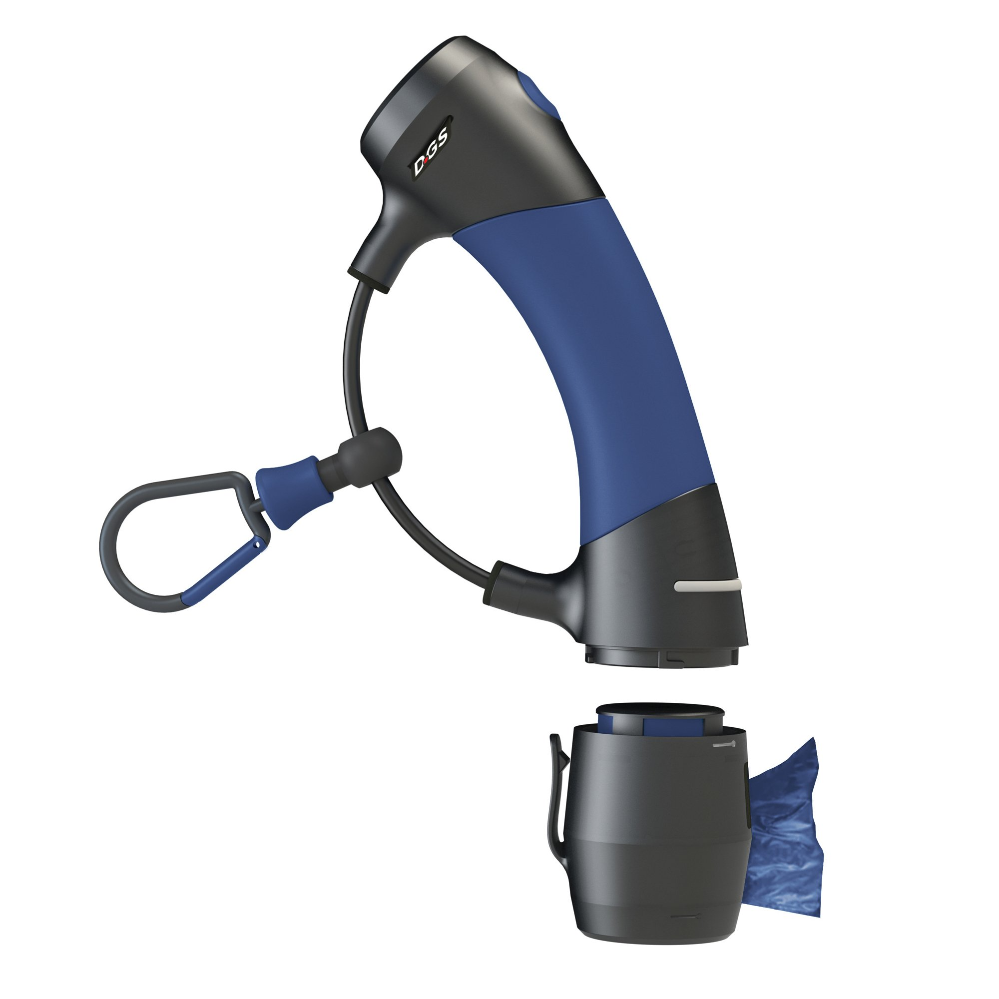Dog Gone Smart I'm Gismo- Handle with Poop Bag Dispenser Midnight Blue