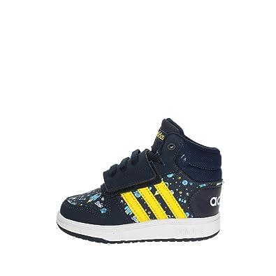 77b587acd adidas Unisex Kids  Hoops Mid 2.0 Low-Top Sneakers  Amazon.co.uk ...