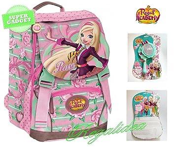 Mochila escolar extensible Regal academy Giochi Preziosi + gadget Espejo Maquillaje: Amazon.es: Deportes y aire libre
