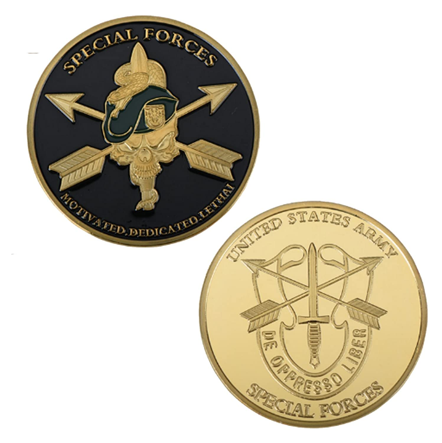 Green Beret Tactical United States Army | Green Beret | Special Forces Challenge Coin #1