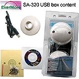 SA-320 12 Kanal USB GPS Empfänger. Satelliten Empfänger für Marine Boot Yacht: SA320 von Evermore für den Anschluß an PC Bordcomputer Laptop Desktop NMEA 0183 geeignet für Windows 10 8 7 Vista XP 98 Apple Mac OS Linux über USB -143dBm