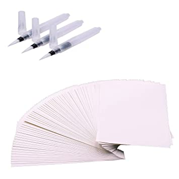 Aquarellpapier Weiss A5 60 Blatter Kunstlerpapier 100 Baumwolle