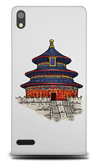 Amazon com: Chinese Buddhist Temple 3 Hard Phone Case Cover for