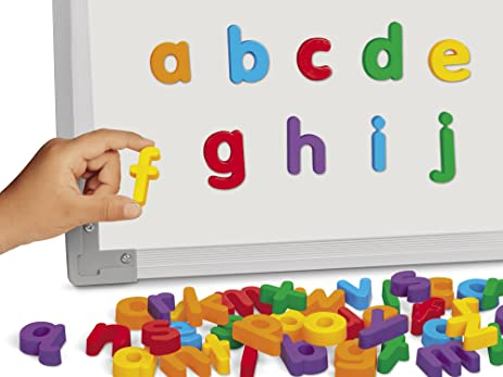 Amazon Lakeshore Magnetic Letters Lowercase Toys & Games