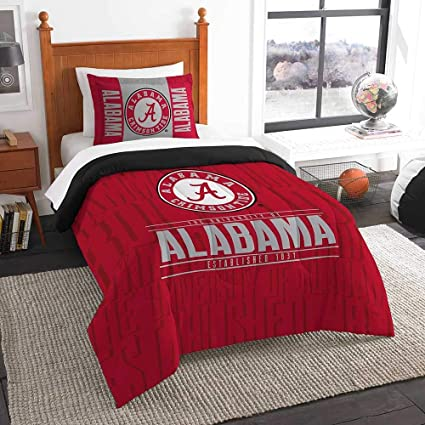 College Covers Alabama Crimson Tide Comforter Only Twin Team Color