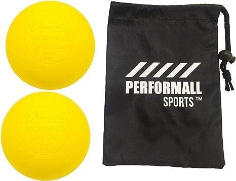 Champion Sports pelota de lacrosse (paquete de 2) bola de masaje ...