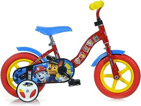 Bicicleta para niños DINO BIKES 108L-PW talla 10 PAW PATROL ...