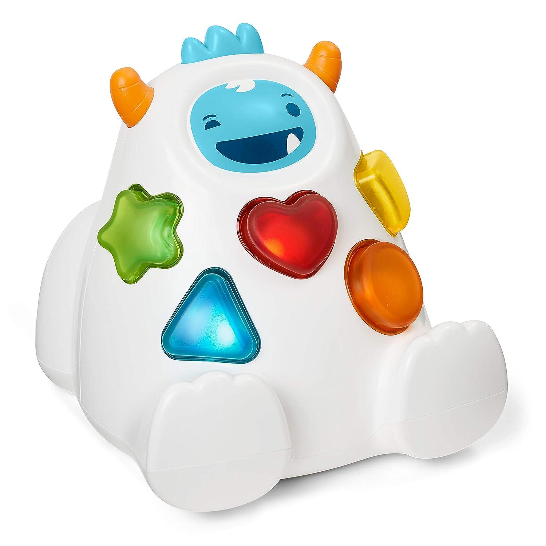 Skip Hop Interactive Shape Sorter: 3-Stage Spinning & Sorting Developmental Learning Toddler Toy, Yeti