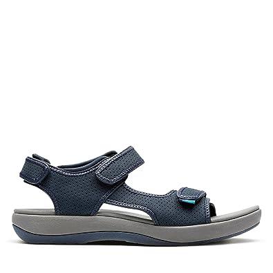 b456e421623 Clarks Women s Brizo Sammie Navy Fashion Sandals - 3.5 UK India (36 EU)