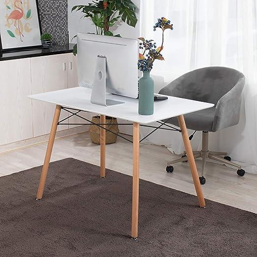 furniture-r Francia Maddie mesa a comedor Rectangular de 2 a 4 ...