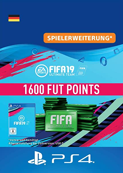 FIFA 19 Ultimate Team - 1600 FIFA Points | PS4 Download Code - deutsches Konto