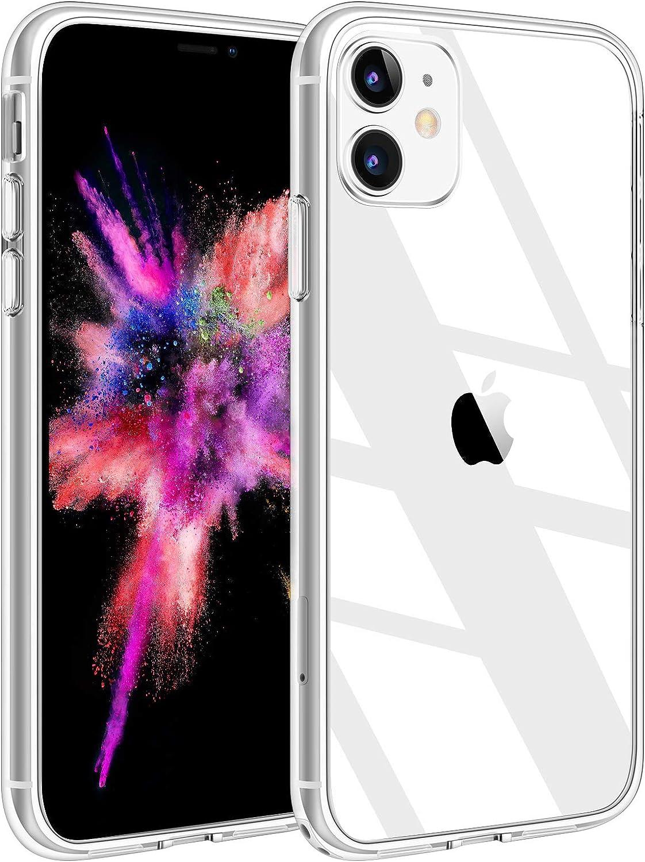 Yisica Transparente Funda para iPhone 11 (6.1