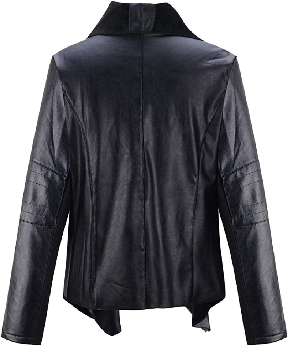 Koza Leathers Womens Lambskin Leather Trench Jacket Over Coat WT019