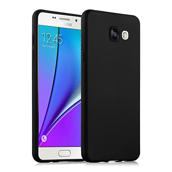 newest collection 1fc15 3e462 Galaxy A3 (2016) Case, JAMMYLIZARD Ultra Slim Silicone Jelly Back Cover for  Samsung Galaxy A3 (6) 2016, Black