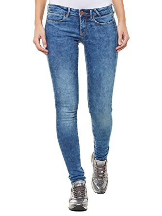 GUESS Jeans Slim w54 a27d1 X H2 Mujer Azul 52 cm: Amazon