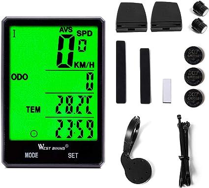 Smart GPS Fahrrad Computer Kabellos Fahrrad Computer Digital Tacho Tragbares