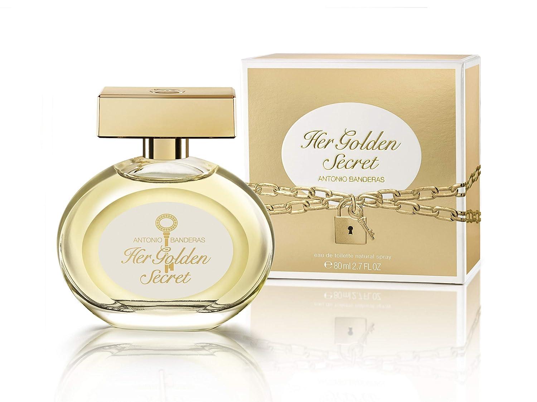 Antonio Banderas Her Golden Secret Edt Spray 80 Ml Amazoncouk Beauty