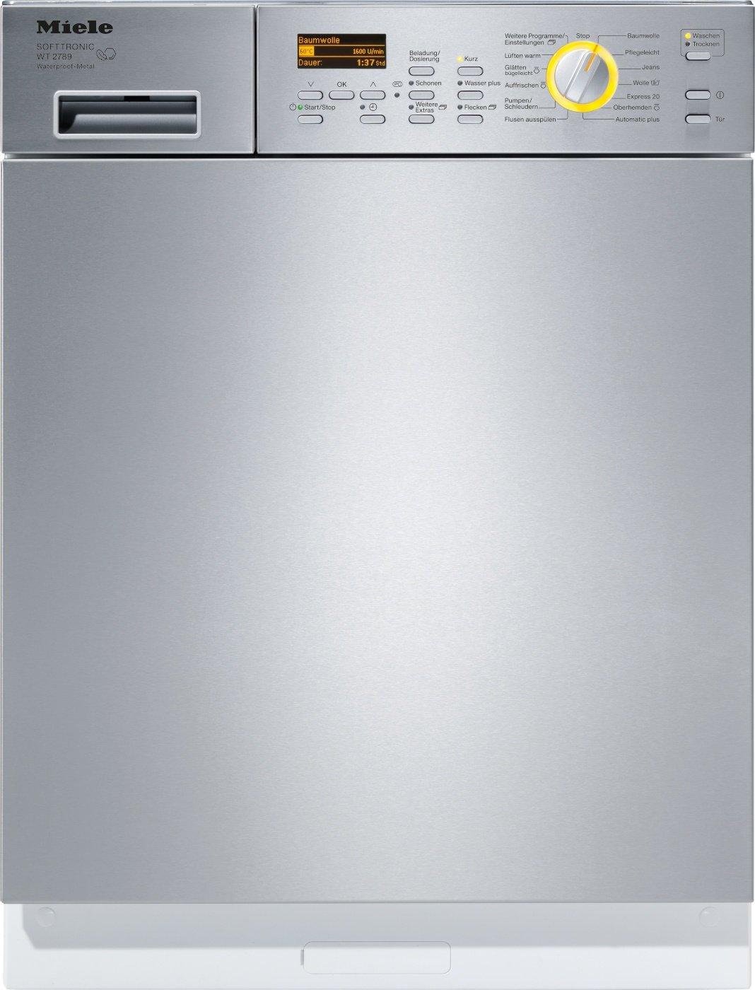 Miele WT 2789i WPM - Lavadora-secadora (Frente, Integrado ...