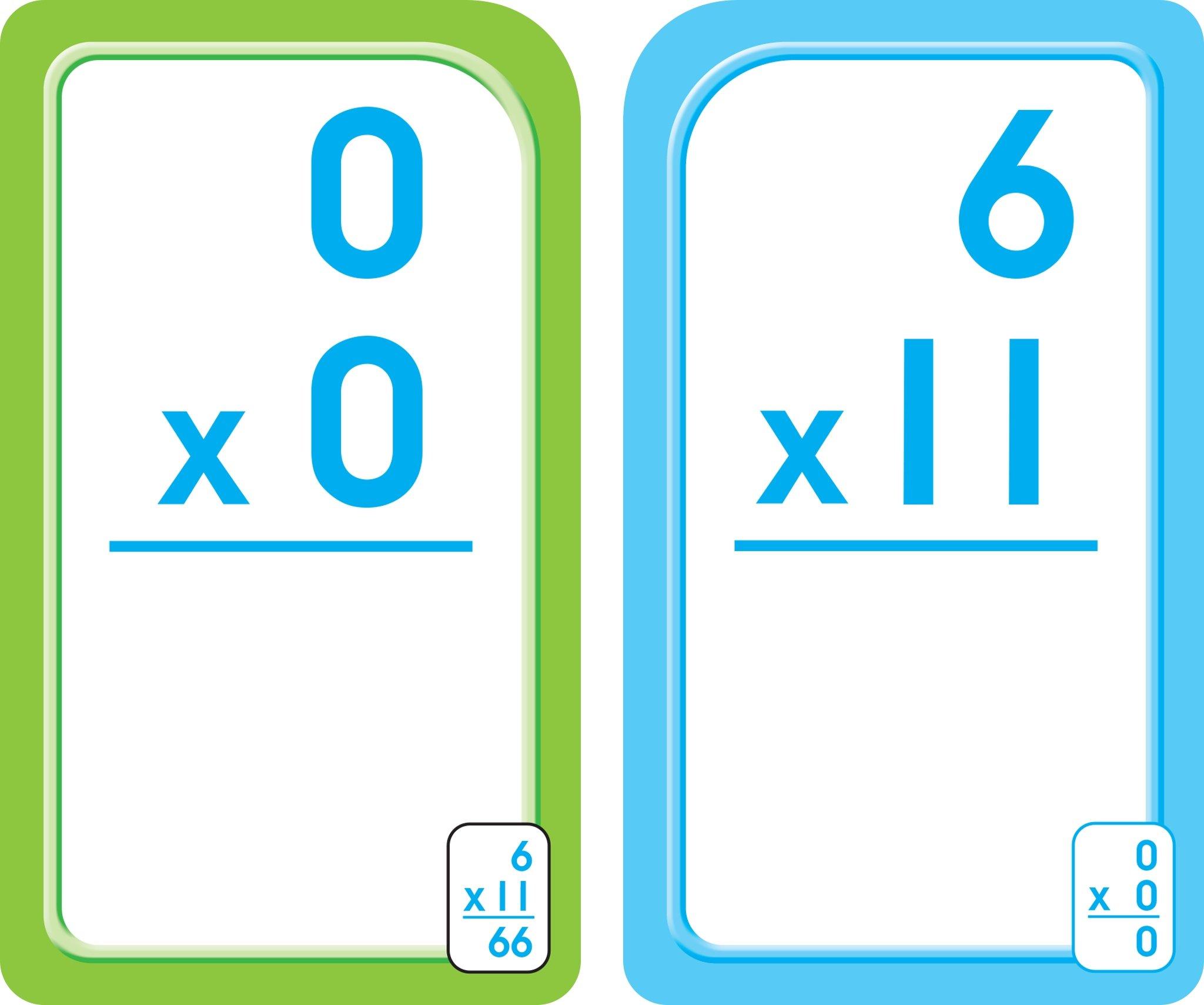 Multiplication 0-12 Flash Cards - Bilingual (Spanish Edition ...
