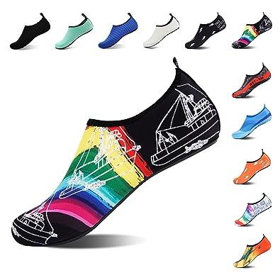 Amazon.com: ROTOK Zapatos de Agua Calcetines Acuáticos ...