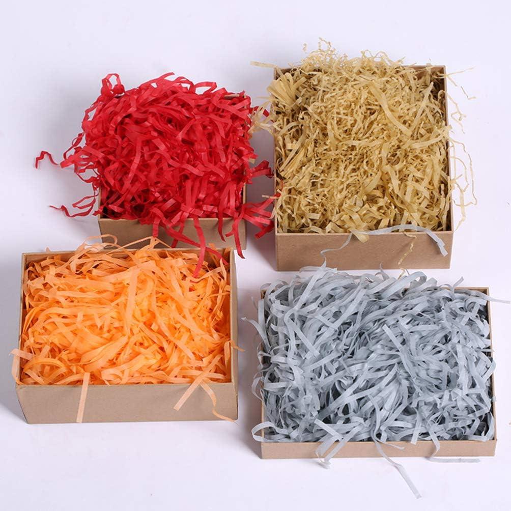 Holibanna Papier d/échiquet/é Remplissage de paniers-Cadeaux Papier de Raphia froiss/é confettis Bricolage Emballage Cadeau remplissages de bo/îte