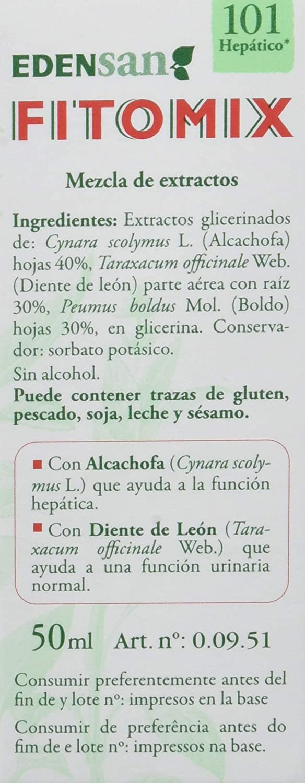 Amazon.com : DIETISA FITOMIX 101 HEP HEPATICO 50ml : Grocery & Gourmet Food