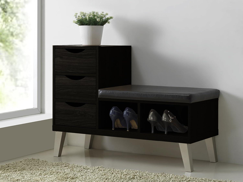 Amazoncom Baxton Studio Arielle Modern Contemporary Wood