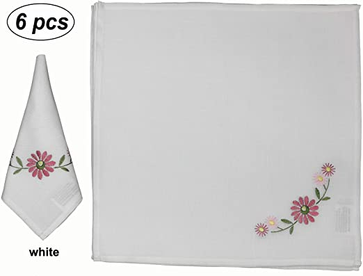 DAISY AND BUTTERFLY ECHO GORGEOUS EMBROIDER SET 2 BATHROOM HAND TOWEL