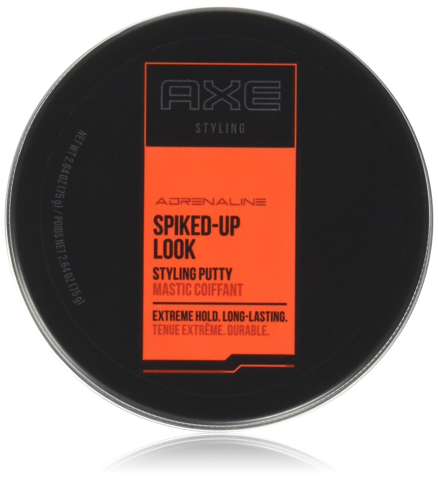 Axe Styling Spiked-Up Look Putty 2.64 Oz (Pack of 2)