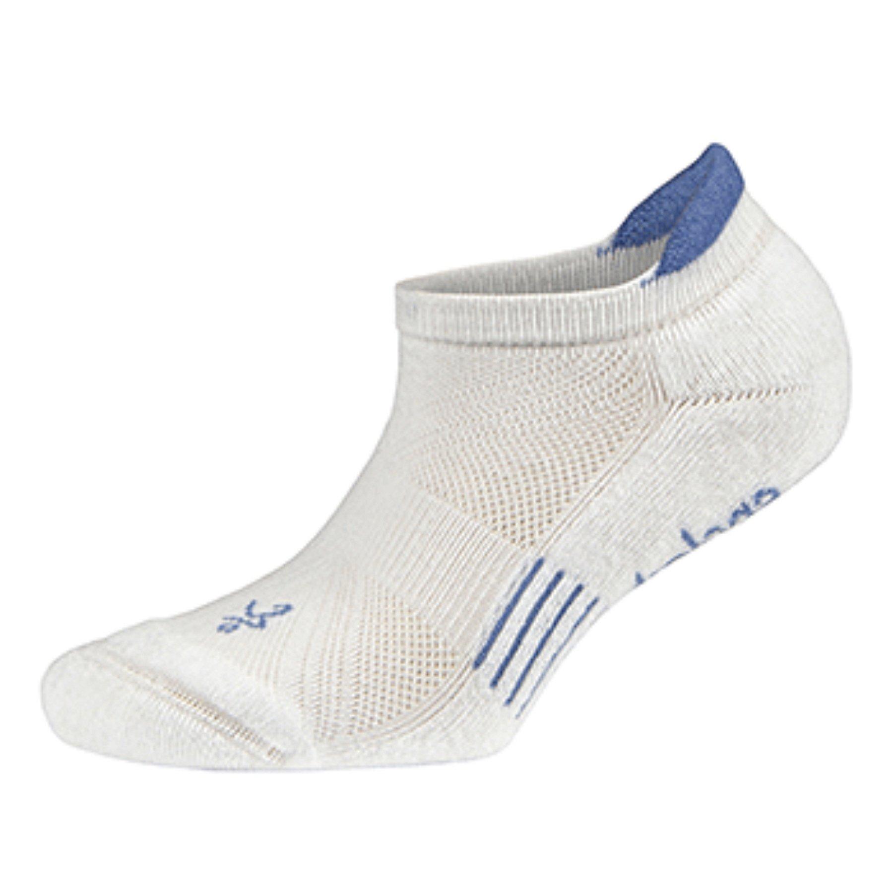 Balega Kids Hidden Cool Socks (1 Pair), White/Sky, Medium by Balega