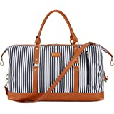 27429b1c2d003 BAOSHA HB-14 Übergroße Canvas Reisetasche Frauen Damen Travel Duffel Bag  Carry On Bags Segeltuch
