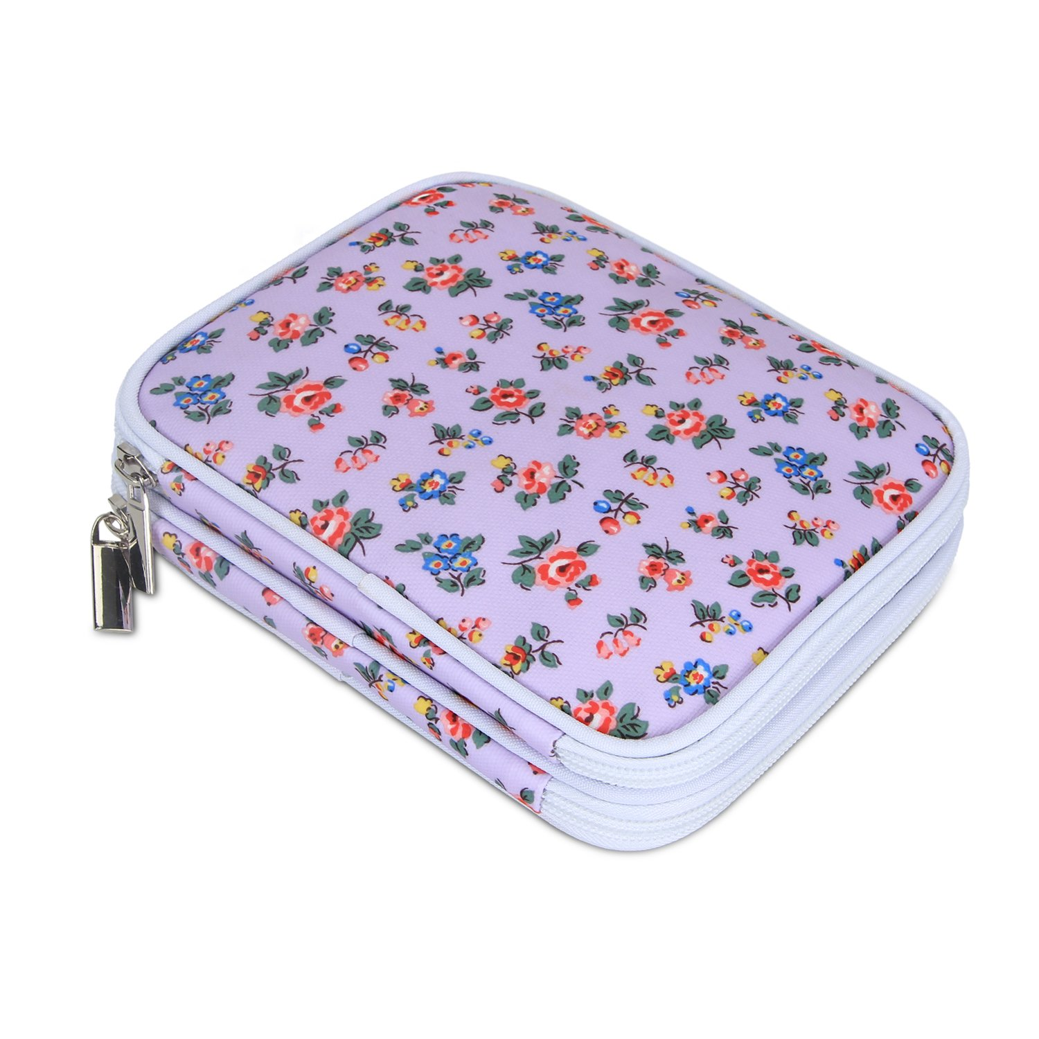 Amazon Teamoy Crochet Hook Case Travel Storage Bag For Various