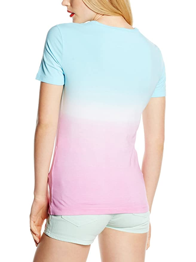 Love Moschino Damen Crew Neck Dégradée T-Shirt Multicolor: Amazon.de:  Bekleidung
