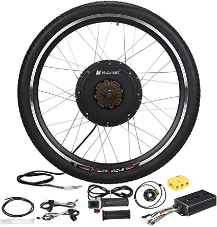 48V 1500W Ebike kit Front or Rear Hub Motor Wheel electric bicycle conversion