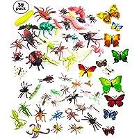 OOTSR 39pcs Insectos e Insectos de plástico
