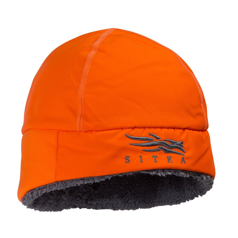 SITKA Gear Ballistic Beanie Blaze Orange One Size Fits All by SITKA