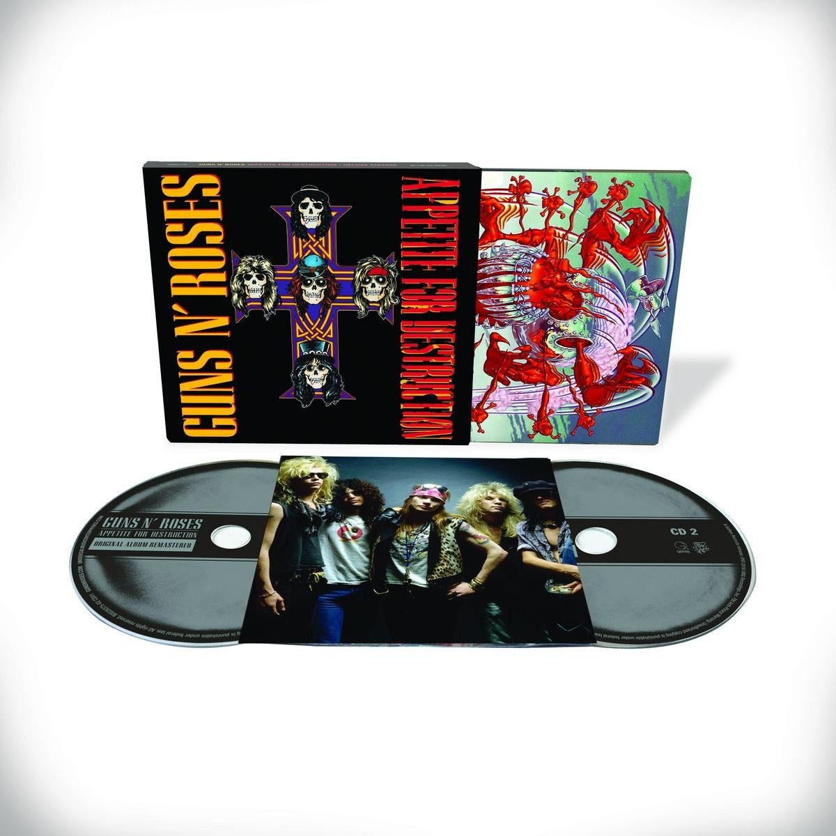 "CD : Guns N Roses - 30th Anniversary Of ""appetite For Destruction"" (Deluxe Edition, 2PC)"