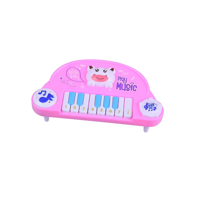 Divertente Baby Kids Toddler Musical Animal Piano Electronic Keyboard Toys (Rosa) per bambini da SKNSM