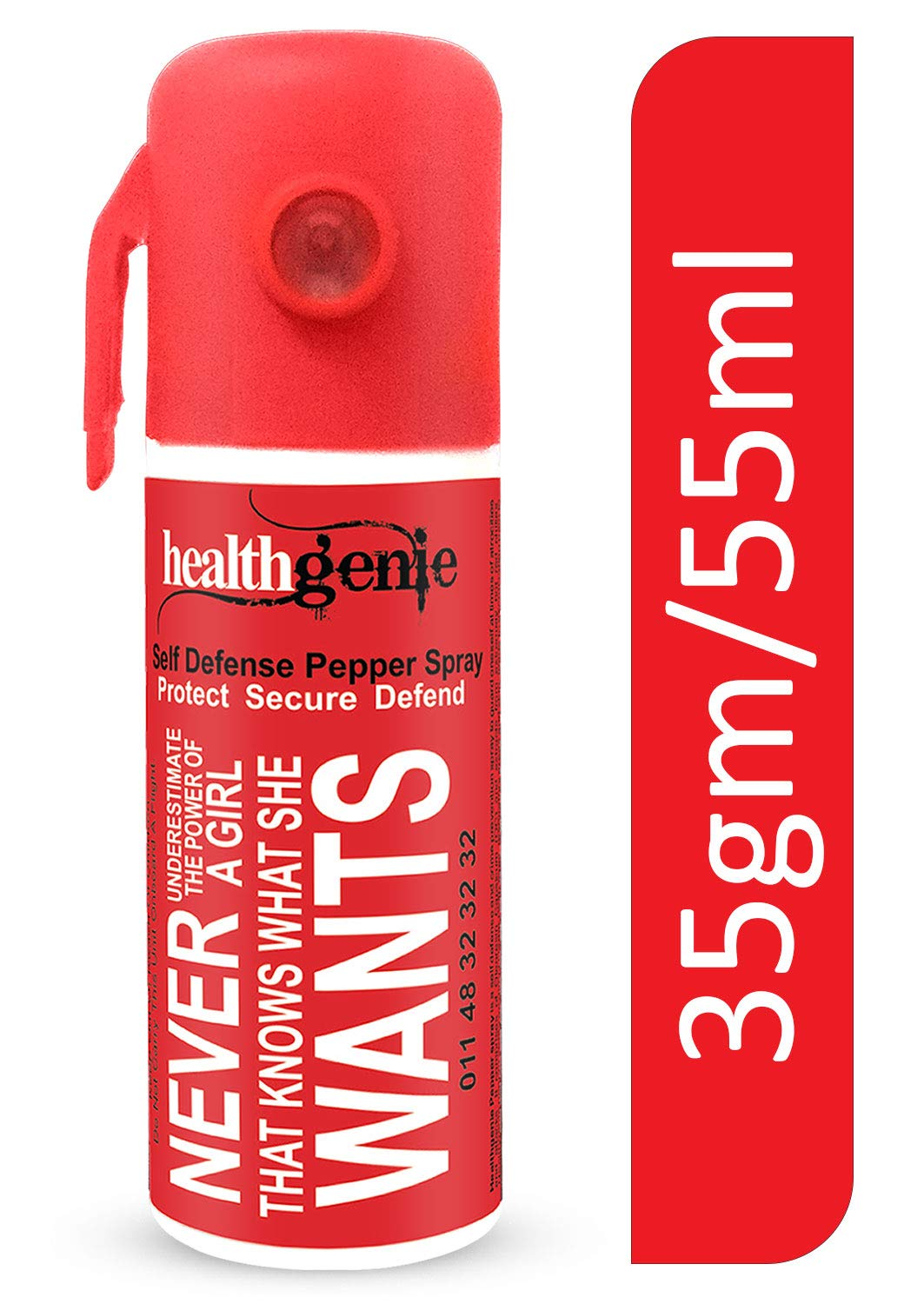 Healthgenie Self Defense Pepper Spray for Woman Safety - 35gm / 55 ml product image